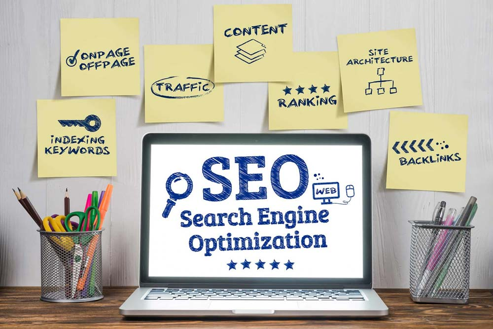 components of an SEO campaign